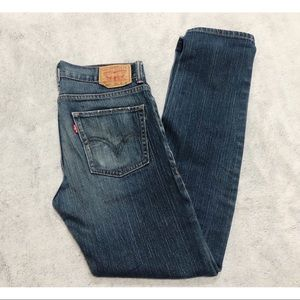 Levi's 30X29 Super Skinny / Distressed Jeans